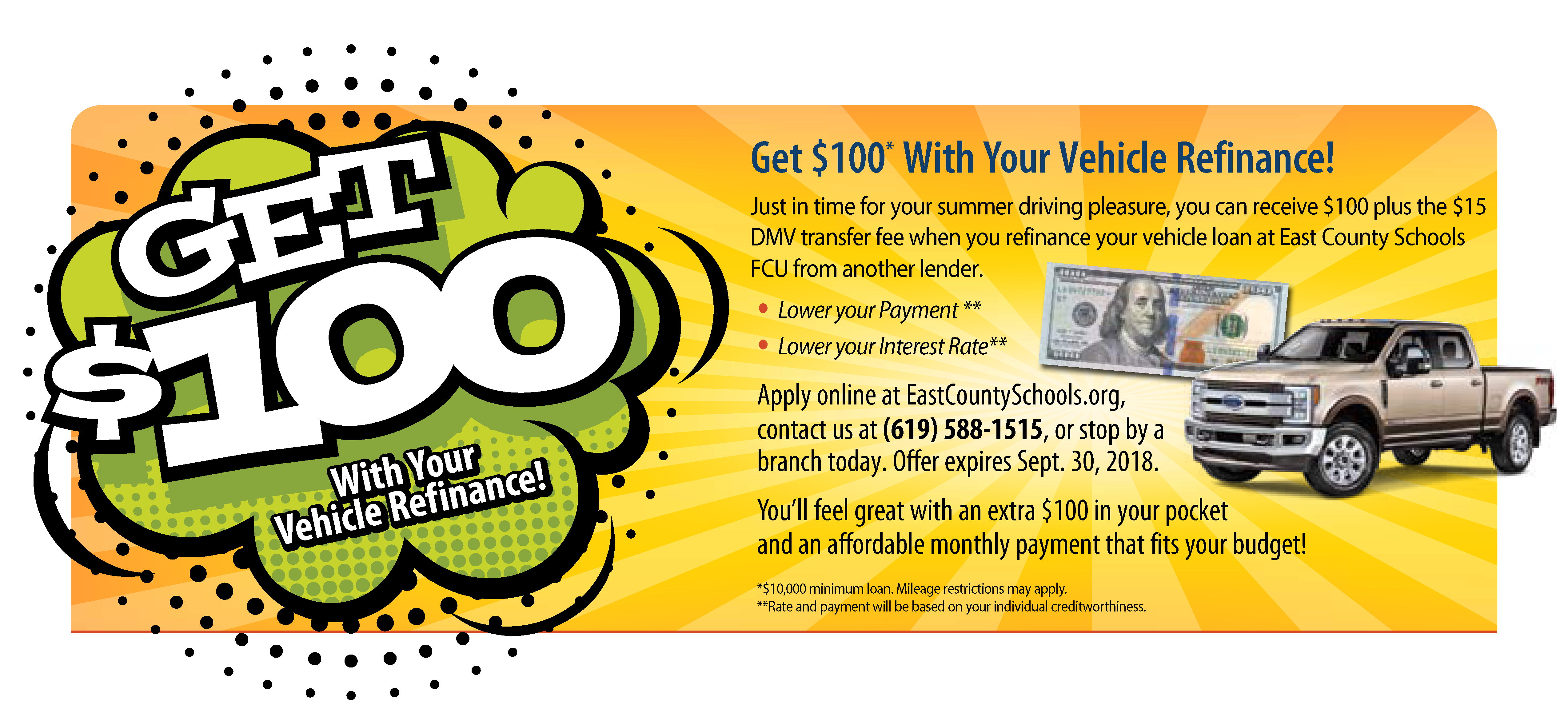 100 dollar vehicle refinance ADA compliant