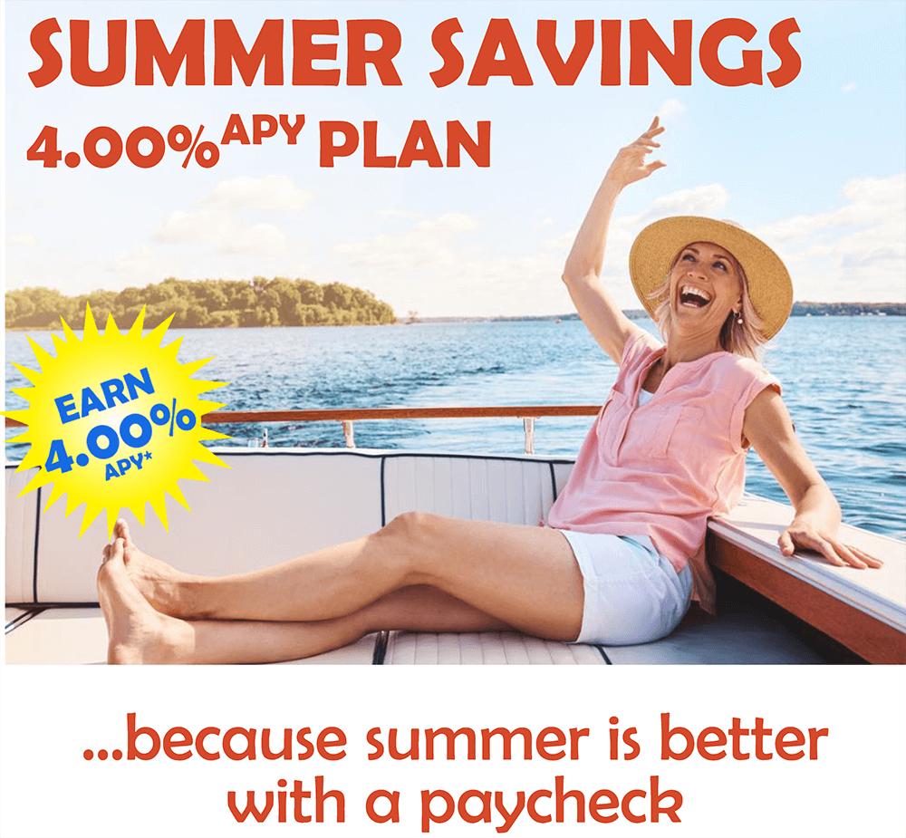 Summer Savings 4% crop
