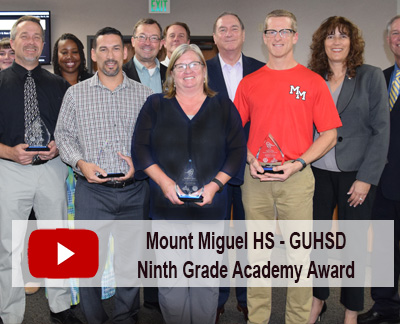 Watch Mt Miguel HS Ninth Grade Academy Video