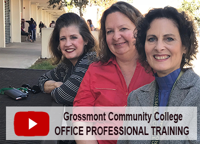 Watch GCCCD Office Professional Training Video