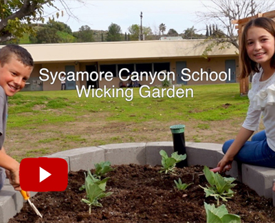 Watch Sycamore Canyon Elementary Wicking Garden Video